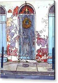 French Quarter Door Acrylic Print by John Boles