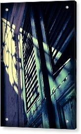 French Quarter Doors Acrylic Print