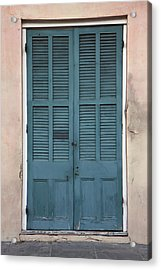 French Quarter Doors Acrylic Print