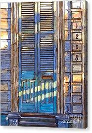 French Quarter House 1208 Acrylic Print by John Boles