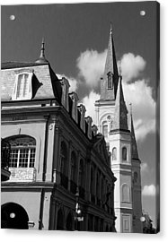 French Quarter - New Orleans Acrylic Print by Mike Barch