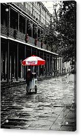 French Quarter Solitude...... Acrylic Print by Tanya Tanski