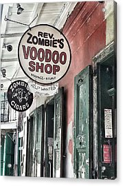 French Quarter Voodoo Shop Acrylic Print by Mike Barch