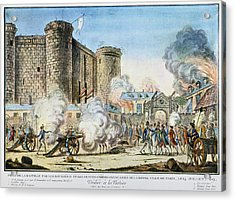French Revolution Bastille Acrylic Print by Granger