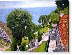 French Riviera Acrylic Print by Graciela Castro