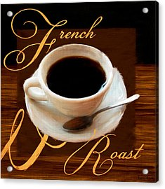 French Roast Acrylic Print by Lourry Legarde
