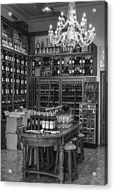 French Style Wine Store Acrylic Print by Georgia Fowler
