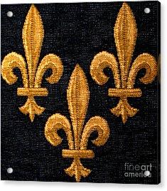 French Tapestry Acrylic Print by Patricia Januszkiewicz