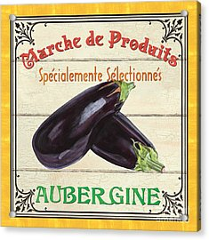 French Vegetable Sign 3 Acrylic Print