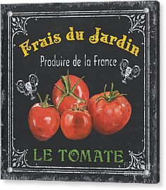 French Vegetables 1 Acrylic Print by Debbie DeWitt