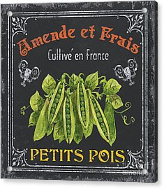 French Vegetables 2 Acrylic Print by Debbie DeWitt