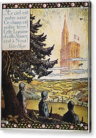 French World War I Poster Acrylic Print by Granger