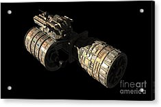 Frenchbulgarian Orbital Weapons Acrylic Print by Rhys Taylor