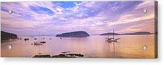 Frenchman Bay, Bar Harbor, Maine, Usa Acrylic Print