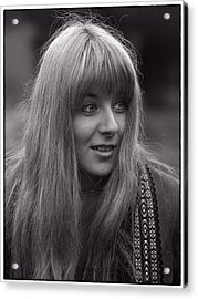 Frenchy Acrylic Print by Hal Norman K