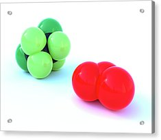 Freon14 And Ozone Acrylic Print by Indigo Molecular Images