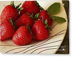 Fresh Berries Acrylic Print by Inspired Nature Photography Fine Art Photography