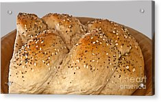 Fresh Challah Bread Art Prints Acrylic Print