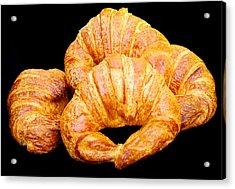 Fresh Croissants Acrylic Print