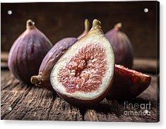 Fresh Figs Acrylic Print by Edward Fielding