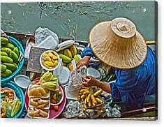 Fresh Fruit For Sale  Acrylic Print