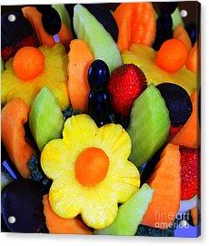 Fresh Fruit Acrylic Print by Kathleen Struckle