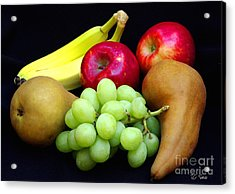 Fresh Fruit Two Acrylic Print by James C Thomas