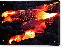 Fresh Lava Flow Acrylic Print