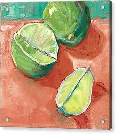 Fresh Limes Acrylic Print