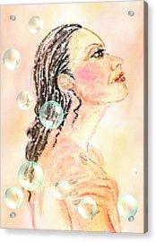 Fresh New Day Acrylic Print by Desline Vitto