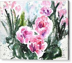 Fresh Pick No.376 Acrylic Print by Sumiyo Toribe