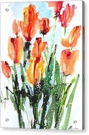 Fresh Pick No.379 Acrylic Print by Sumiyo Toribe