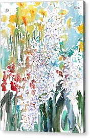 Fresh Pick No.380 Acrylic Print by Sumiyo Toribe