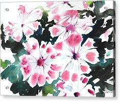 Fresh Pick No.383 Acrylic Print by Sumiyo Toribe