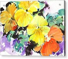 Fresh Pick No.396 Acrylic Print by Sumiyo Toribe
