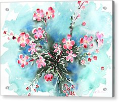 Fresh Pick No.397 Acrylic Print by Sumiyo Toribe