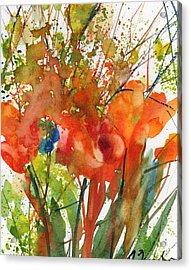 Fresh Pick No.9 Acrylic Print by Sumiyo Toribe