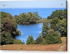 Fresh Pond At Caumsett Acrylic Print