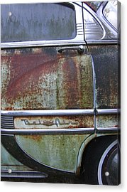 Fresh Prints On Bel Air Acrylic Print by Guy Ricketts