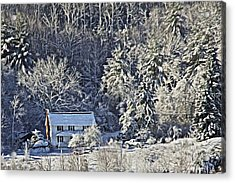 Fresh Snow Acrylic Print