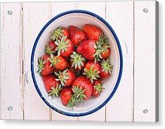 Fresh Strawberries  Acrylic Print by Viktor Pravdica