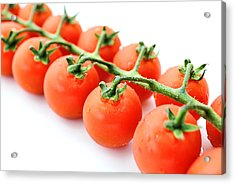 Fresh Tomatoes Acrylic Print by Chevy Fleet