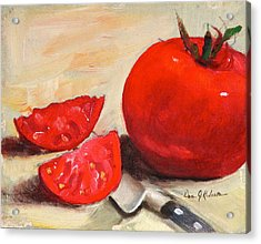Fresh Tomatoes Acrylic Print by Dan Redmon