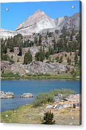 Fresh Water  Acrylic Print by Peter Hennessey
