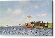 Fresh Wind On The Volga Acrylic Print by Isaak Ilyich Levitan