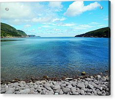 Acrylic Print featuring the photograph Freshwater Bay by Zinvolle Art