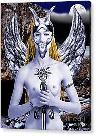 Freya Viking Warrior Acrylic Print