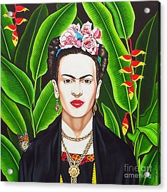 Frida Acrylic Print by Joseph Sonday