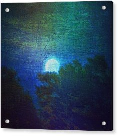 Friday 6/13/14 Full Moon - The Honey Acrylic Print