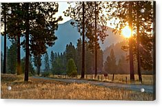 Acrylic Print featuring the photograph Friday Rise Time by Julia Hassett